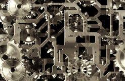 Mechanische Achtergrond stock illustratie