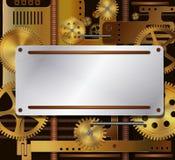 Mechanische achtergrond Royalty-vrije Stock Afbeelding