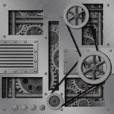Mechanische Achtergrond Royalty-vrije Stock Afbeeldingen
