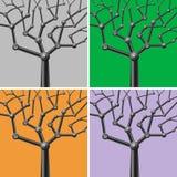 Mechanische bomen Stock Afbeelding