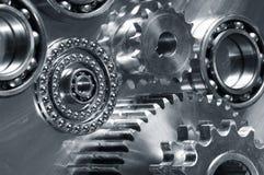 Mechanische delenstudie Royalty-vrije Stock Foto's