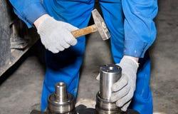 Mechanische dichte omhooggaand van de reparatiestransmissie stock foto