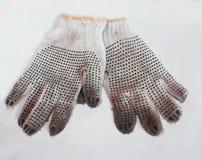 Mechanische handschoenen stock fotografie