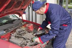 Mechanische het Controleren Motor Royalty-vrije Stock Afbeelding