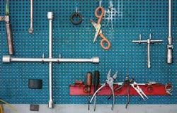Mechanische hulpmiddelen Stock Fotografie