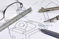 Mechanische ingenieur 001 Stock Afbeelding