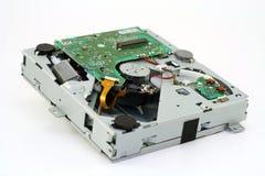 Mechanische Ladevorrichtung für Digitalschallplatten stockfotos