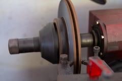Mechanische mens die rem herstellen stock afbeeldingen