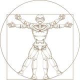 Mechanische mensenbouw royalty-vrije illustratie