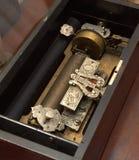 Mechanische muzikale doos Stock Afbeeldingen