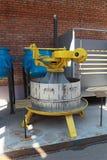Mechanische pers voor het drukken van sap Stock Foto