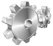 Mechanische radertjes of toestellenillustratie Royalty-vrije Stock Afbeeldingen