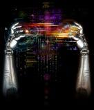Mechanische robothanden Royalty-vrije Stock Foto's