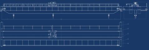 Mechanische schets vector illustratie