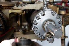 Mechanische Teile des alten Motors Stockbilder