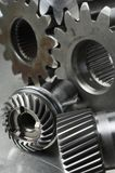 Mechanische Teilidee Stockfoto