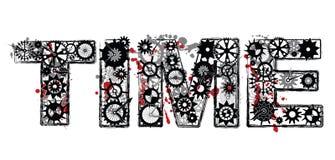 Mechanische Tijd Royalty-vrije Stock Foto