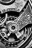 Mechanische Uhr-Bewegung Lizenzfreies Stockfoto