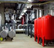 Mechanische und elektrische Haustechnikräume Lizenzfreie Stockfotografie