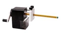 Mechanischer Bleistiftspitzer Stockbild