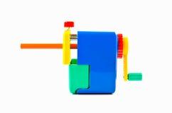 Mechanischer Bleistiftspitzer des Bleistifts Lizenzfreies Stockbild