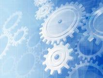 Mechanischer Hintergrund Stockfoto