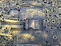 Mechanischer Hintergrund Stockbilder