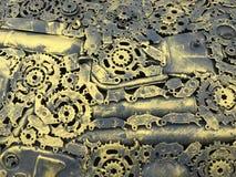 Mechanischer Hintergrund Lizenzfreies Stockbild