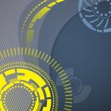 Mechanischer Hintergrund der abstrakten Technologie Stockfotos