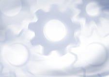 Mechanischer Hintergrund mit Gängen Lizenzfreie Stockfotografie