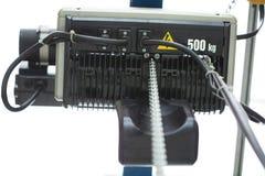 Mechanischer Motor auf weißem Hintergrund Lizenzfreie Stockfotografie