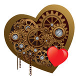 Mechanisches Herz stock abbildung