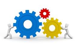 The mechanism Stock Photo