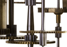 Mechanism of clock Royalty Free Stock Photo
