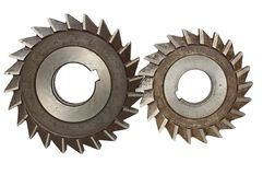 Mechanism from cog-wheels Stock Photo