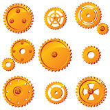 Mechanism details Stock Images