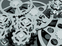 Mechanism of gears Royalty Free Stock Photography