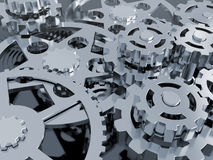 Mechanism of gears Royalty Free Stock Photo