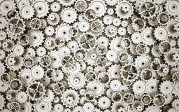 Mechanism of gears Stock Photo