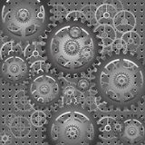 Mechanism - gears - vector Royalty Free Stock Photo
