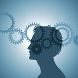 Mechanism of the human mind Royalty Free Stock Photography