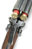 Mechanism of hunting rifle Stock Photo