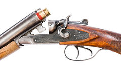 Mechanism of hunting rifle Royalty Free Stock Image