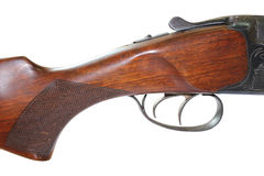 Mechanism of hunting rifle Royalty Free Stock Images