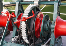 The mechanism of the large gear of Stock Images