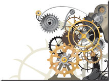 Mechanism new. Illustration vector and raster Stock Image