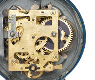 Mechanism the old alarm clock Stock Photography