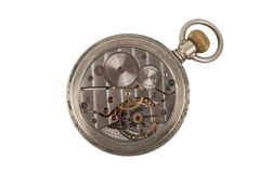 Mechanism of old Clock Stock Images