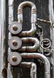 Mechanism of old trumpet Royalty Free Stock Image