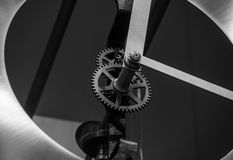 The mechanism of a old and vintage machine Stock Images